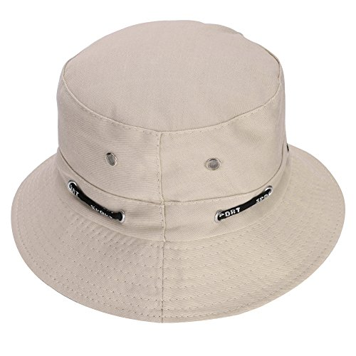 ITODA sun hat outdoor hat unisex fishing hat for women men bush hat UV protection fishing hat for girls boys hiking hat foldable sun hat bucket hat monochrome fishing hat for hiking fishing