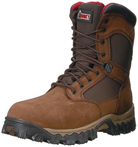 Rocky Men's RKK0184 Construction Boot, Brown, 9.5 W US