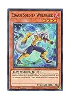 遊戯王 英語版 MAGO-EN120 Coach Soldier Wolfbark 熱血獣士ウルフバーク (レア:ゴールド) 1st Edition