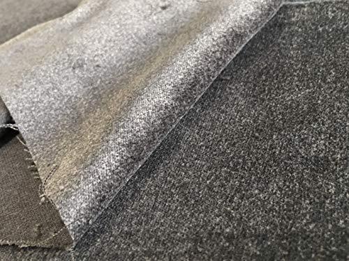 生地屋すず木 1m価格 綿100% 別珍 シルバー グレー 布 生地 カットクロス ハンドメイド用品 DIY
