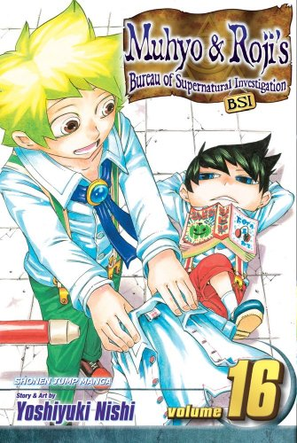 Muhyo & Roji's Bureau of Supernatural Investigation 16: Shonen Jump Manga Edition