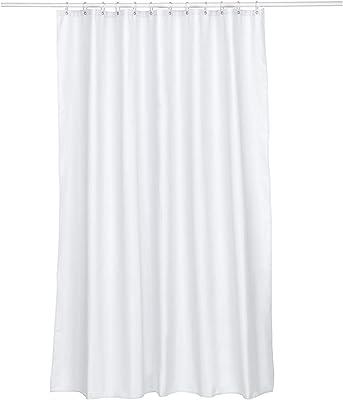 Kela ケラ シャワーカーテン サイズ:180×H200cm ホワイト Laguna 22074