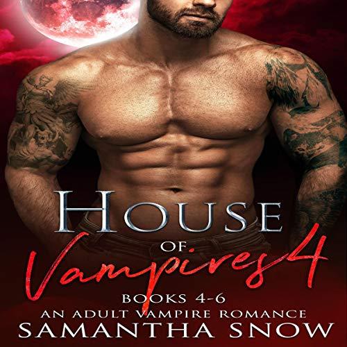 The House of Vampires: Books 4-6 cover art