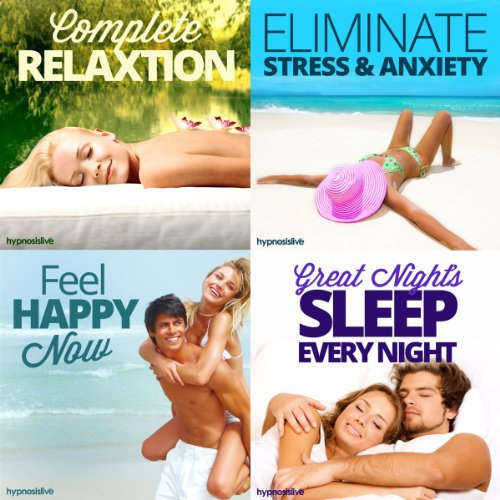 The Total Relaxation Hypnosis Bundle audiobook cover art