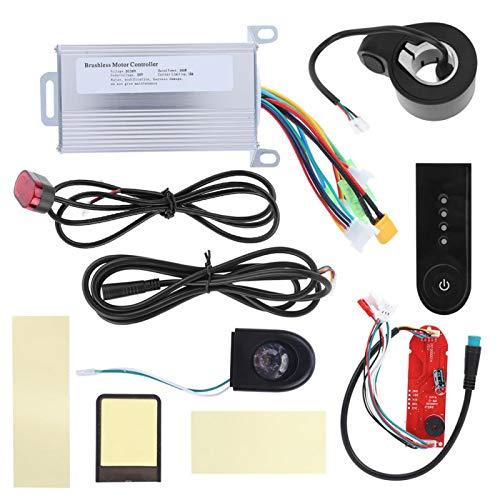 minifinker Controlador de Motor sin escobillas de 36V 350W Apto para Scooter eléctrico Xiaomi M365, Controlador de Scooter eléctrico Adopta MCU de 32 bits de Alto Rendimiento Durable