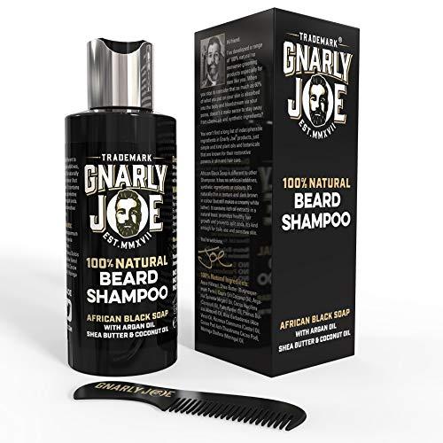 Gnarly Joe Champú 100% Natural para el Cuidado de la Barba |...