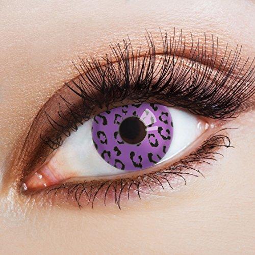aricona Kontaktlinsen Farblinsen bunte Kontaktlinsen zum Halloween Make-up/Faschingskostüme