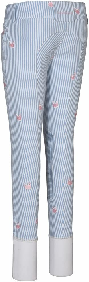 Equine Couture Stripe Whales Breeches