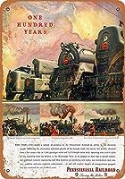 1946ペンシルベニア鉄道百年コレクターウォールアート