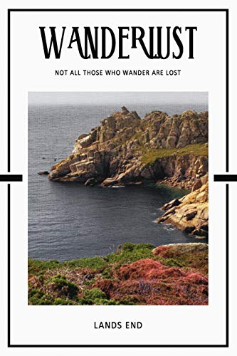 Lands End: Famous Landmark Cornwall England Daily Notebook Journal Diary Notepad
