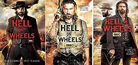 Hell on Wheels Complete Seasons 1-3