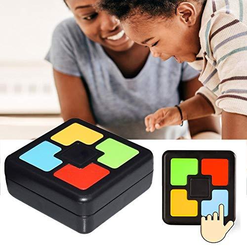 Montessori Spielzeug Kinder, Buzzer Mit Sound Und Licht Buzzer Mit Sound Kinder Lernspielmaschine Lernspielzeug Innovativ Interaktives Spiel Flash Memory Training Einhand Spielekonsole