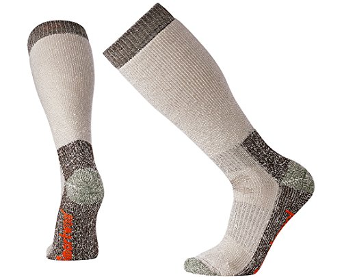 Smartwool Men's Hunt Over-the-Calf Extra Heavy Merino Wool Socks, Taupe, Large