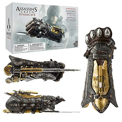 TYYT Assassins Creed 6 Syndicate Cosplay Waffe Props 1: 1-Held-Armband Mit Sleeve Pfeile Sleeve Schwert Modell A