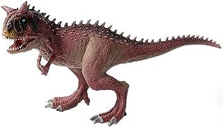 JOKFEICE Carnotaurus beeldjes, realistisch dinosaurus speelgoed, wetenschapsproject, cake topper, vroeg educatief speelgoe...