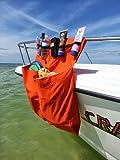 Double Pocket Boat Organizer (Burgundy)