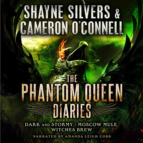 The Phantom Queen Diaries: Books 4-6 cover art