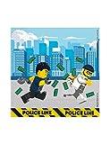 Procos 92248 - Servietten  Lego City  33x33cm  20