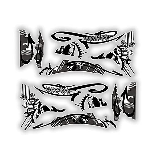 Protector DE Tanque Moto para CBR600RR F5 2007-2012 Cbr600 RR c&b-r 600 RR Pegatina De Motocicleta Cubierta Protectora Carenado Kit De Calcomanías Reflectantes Calcomanías de Motociclismo