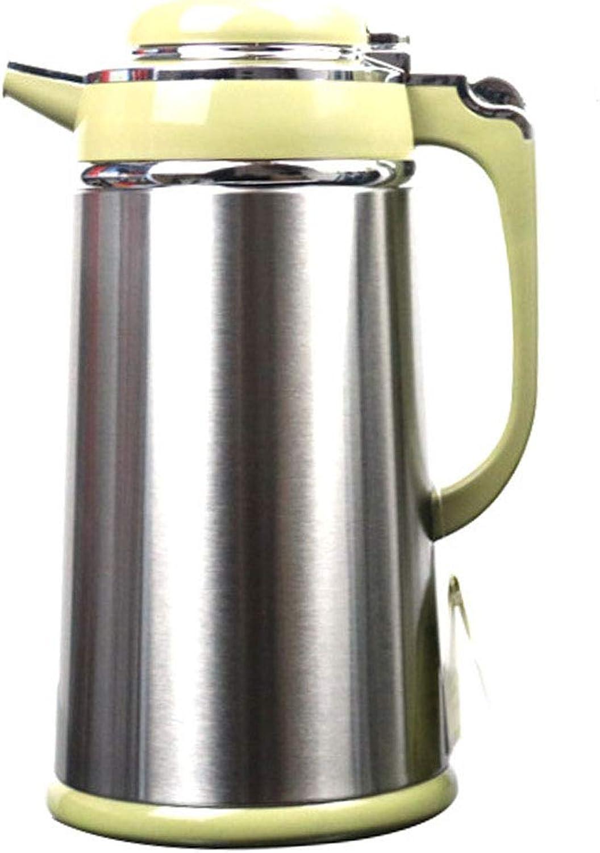 Pot isolant, conception à une main, acier inoxydable durable et doubleure de verre Isolation conservation du froid, à la maison ou au bureau (taille   30CM)