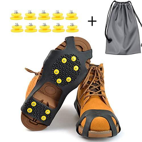 【2021年最新版】靴底用滑り止めスパイクの人気おすすめランキング10選【雪の日も安心】のサムネイル画像