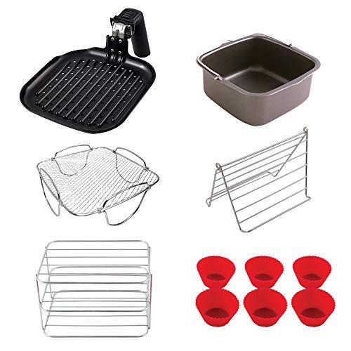 NuWave 6 QT Air Fryer Accessories (Ultimate Kit)