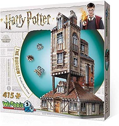 Redstring Puzzle 3D Harry Potter La Madriguera Casa Familiar Weasley, Multicolor, Talla Única (RS262005)