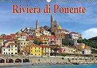 Riviera di Ponente (Wandkalender 2021 DIN A3 quer): Italienische Riviera - Von Genua bis San Remo (Monatskalender, 14 Seiten )