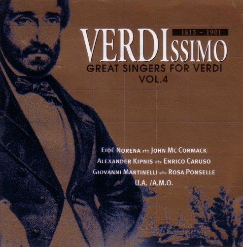Verdissimo 1813-1901/great Singers for Verdi Vol. 4 (UK Import)