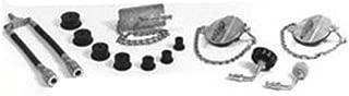 Branick Industries Import Car Brake Bleeder Adapter Set for Pressure Bleeder (BRN-G304)