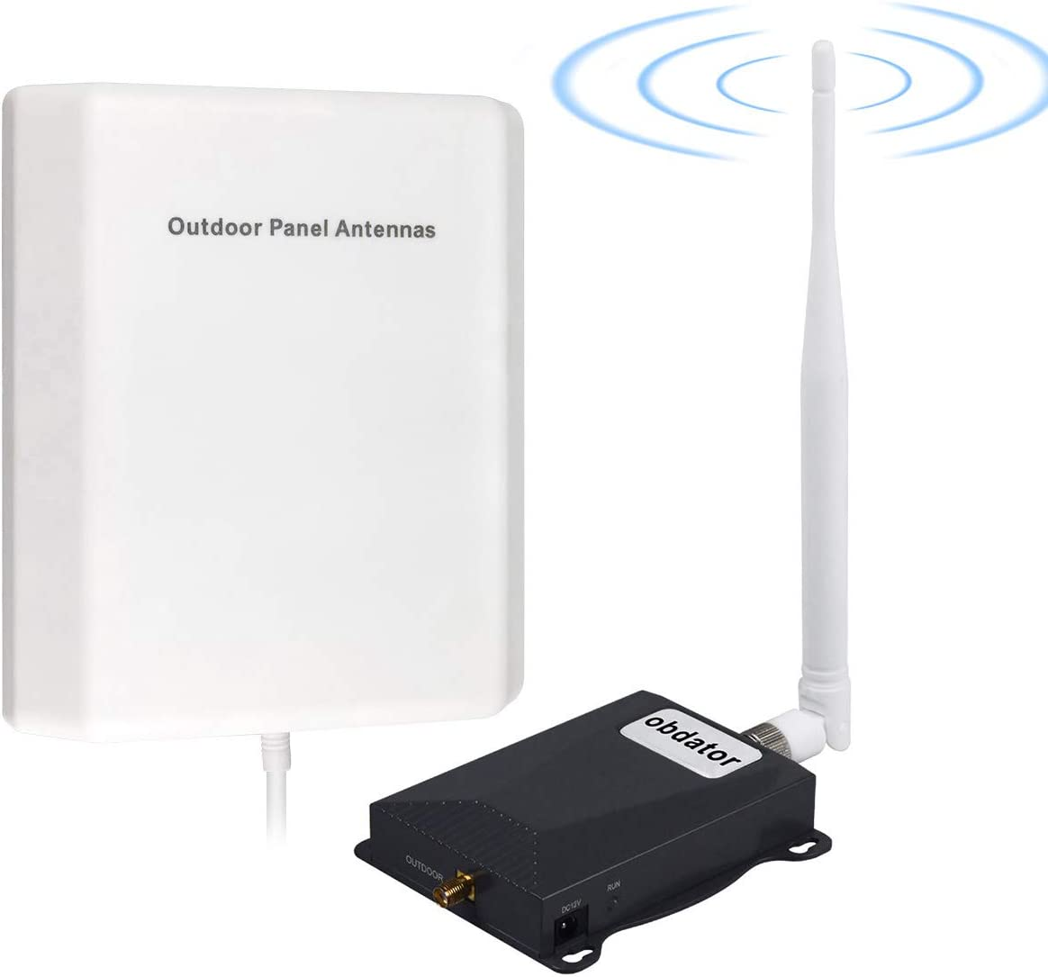 Cell Phone Signal Booster AT&T Signal Booster 4G LTE 5G Cell Phone Booster ATT T-Mobile Band12/17 Cell Network Extenders Signal Amplifier ATT Cellular Signal Booster for Home Boost Voice + Data