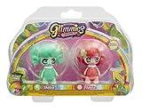 Glimmies - GLN012 - 2 Rainbow Friends 6 Cm - Modèles Shelisa/ Spiria