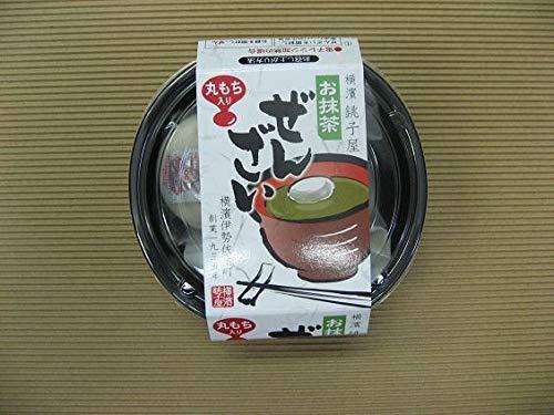 横濱銚子屋丸餅お抹茶ぜんざい4個セット