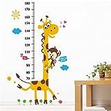 Height Chart Wandaufkleber Kids Wachstum Diagramm