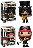 Funko POP! Rocks: Guns N Roses Slash + Axl Rose - Vinyl Figure Set NEW