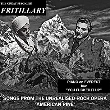 """Songs from the Unrealised Rock Opera """"American Pine"""""""