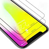 Fuleadture iPhone X Panzerglas Schutzfolie, 99%TransparenzFullHD Panzerfolie Ultra-klar...