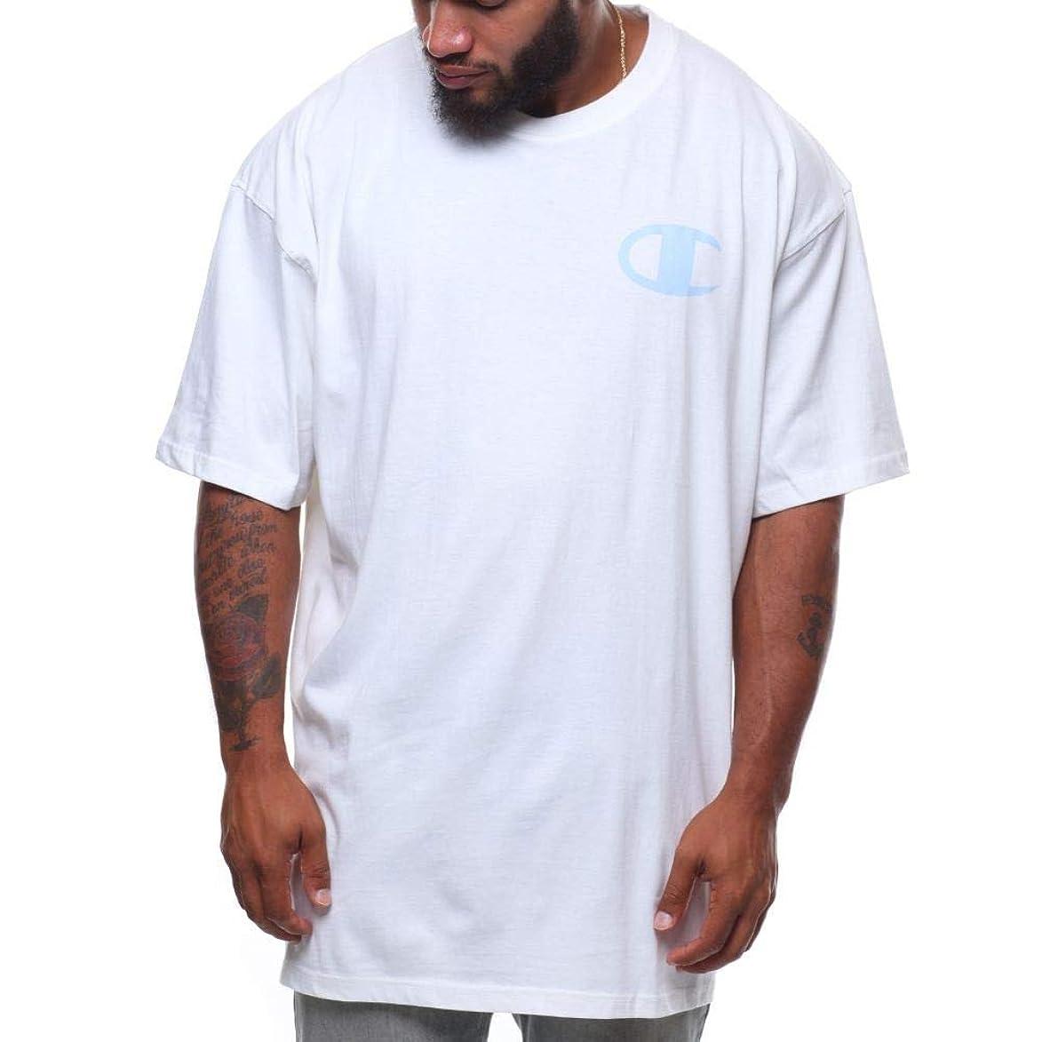 教義主婦しがみつく(チャンピオン) Champion メンズ トップス Tシャツ s/s logo tee (b&t) [並行輸入品]