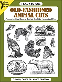 Ready-to-Use Old-Fashioned Animal Cuts (Clip Art)
