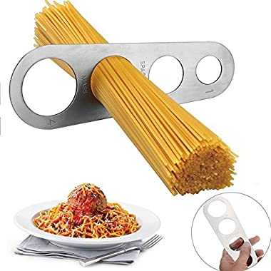 Happy Sales HSKT-SSPM01, Stainless Steel Spaghetti Pasta Measure Tool