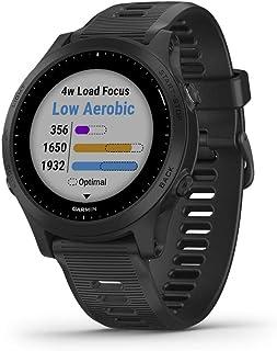 Garmin 佳明 Forerunner 945 组合,高级 GPS 跑步/铁人三项智能手表,配有音乐010-02063-00 仅设备