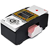 FAMKIT Automatic Poker Card Shuffler, Battery Operated Card...