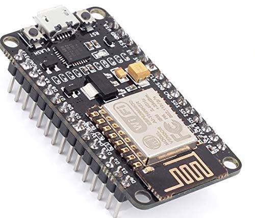 TECNOIOT NodeMcu Lua WiFi Internet of Things Development Board Based ESP8266 CP2102 | Módulo Tarjeta de Desarrollo de Internet CP2102 NodeMcu V2 Basado en ESP8266 ESP12E Lua WiFi
