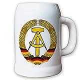 Krug/Bierkrug 0,5l - DDR Deutsche Demokratische Republik Fahne Flagge #9412