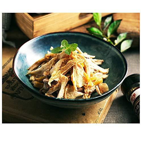 YYF Bol à soupe rond vintage glaze - légumes/steak/sushi/pâtes set 7 tailles (Taille : 12cm)