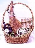 Cesta Lote Regalo de Productos Gourmet Sabores de La Mancha