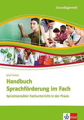 Handbuch Sprachförderung im Fach. Sprachsensibler Fachunterricht in der Praxis. 2 Broschuren im Schuber