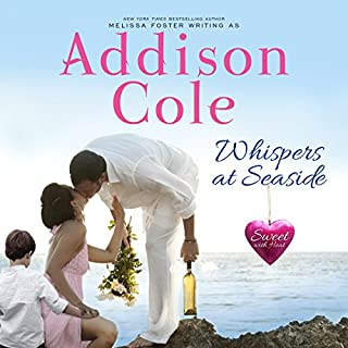 Whispers at Seaside      Sweet with Heat: Seaside Summers              By:                                                                                                                                 Addison Cole                               Narrated by:                                                                                                                                 Andi Arndt,                                                                                        Sebastian York                      Length: 6 hrs and 24 mins     22 ratings     Overall 4.9