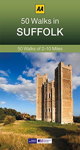 50 Walks in Suffolk (AA 50 Walks series)