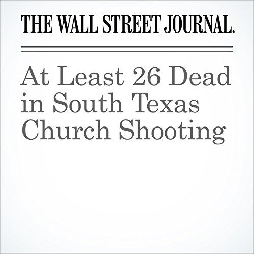 At Least 26 Dead in South Texas Church Shooting copertina